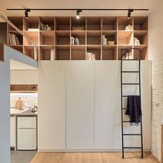 A Little Design maximises space in tiny 22-metre-square Taiwan apartment