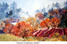 Autumn in California, Marie Gabrielle