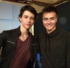 Uriah Justus Shelton and Peyton Meyer