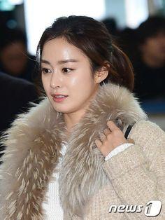 Fur Fashion, Asian Woman, Collars, Fur Coat, Actresses, Jackets, Korean, Female Actresses, Down Jackets