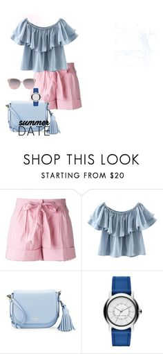 """""""bonbon"""" by stoian-ac on Polyvore featuring Twin-Set, Chicnova Fashion and Kate Spade"""