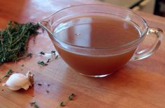 Roasted Turkey Stock - When you're making a turkey, making stock with the bones is the logical next step. Thanksgiving Leftovers, Thanksgiving Recipes, Holiday Recipes, Holiday Meals, Korma, Biryani, Turkey Stock Recipe, Soup Recipes, Cooking Recipes
