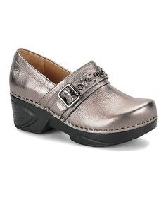 Anthracite Chelsea Professional Leather Clog by Nurse Mates by Söfft #zulily #zulilyfinds
