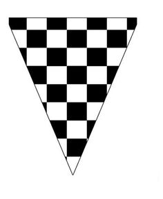 Here is a cute black and white checkered pennant banner flag you can use to create decorations for a race car or monster truck themed birthday parties for little boys. This black and white Free Printable Banner, Free Banner, Bolo Motocross, Auto Party, Black And White Flag, Nascar Party, Hot Wheels Birthday, Monster Truck Party, Birthday Packages