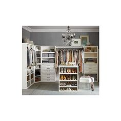 Pottery Barn Sutton Closet Wide Shelf Cabinet, White ($399) ❤ liked on Polyvore featuring home, furniture, storage & shelves, cabinets, modular shelving, storage baskets, white shelves, tower and white storage shelves