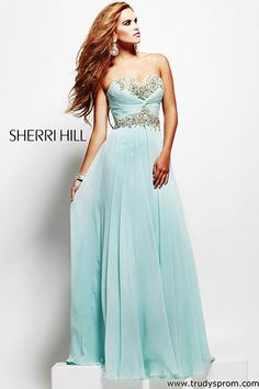 gorgeous sherri hill prom dress