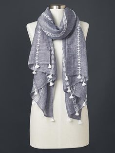 New diy summer clothes for girls products ideas Diy Summer Clothes, Girls Summer Outfits, Diy Clothes, Embroidery Scarf, Embroidery Fashion, Kurta Patterns, Summer Scarves, Short Scarves, Kurta Designs Women