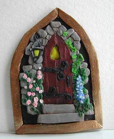 Miniature Polymer Clay Door