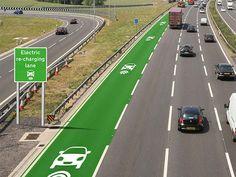 【まるでSF】イギリス政府が走行中に充電ができる道路を発表! - ViRATES [バイレーツ]