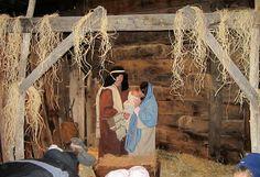 Living Nativity in Alpine
