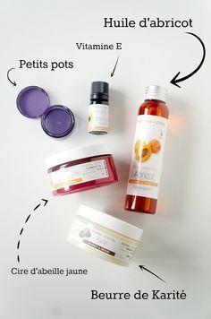 DIY : recette maison de baume à lèvres naturel