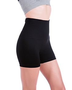 11231b059bd Homma Women s Tummy Control Fitness Workout Running Yoga Shorts (Small