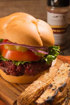 Traeger smoked burgers taste phenomenal. Start with well-seasoned, half-pound patties, and smoke them low and slow until amazingly juicy. Sounds simple, but the secret to these smoky creations is Traeger magic. Traeger's function as wood-fired convection ovens, circulating the flavor around the burgers, so there's no need to flip them, preserving precious, natural juices in the process.  Just one bite will change the way you prepare all future burgers.