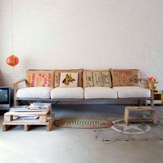 rice bag couch