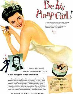 beauty ad<3 Be His Pin-Up Girl