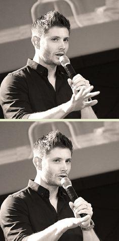 #Jensen #Jibcon2014(the hair!!)
