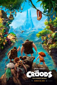 Check out the new poster for animation movie The Croods