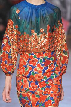 patternprints journal: PRINTS, PATTERNS AND SURFACE EFFECTS FROM PARIS FASHION WEEK / 1