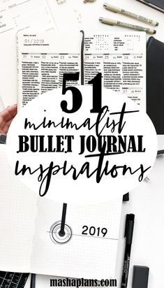 Minimalist Bullet Journal inspiration that will increase productivity, organization, and time management. Bullet Journal cover page, monthly log, habit tracker, weekly spreads, and tons of other pages. Bullet Journal Ideas, Bullet Journal pages. Bullet Journal Cover Page, Journal Covers, Journal Pages, Journal Ideas, Increase Productivity, Weekly Spread, Bullet Journal Inspiration, Cover Pages, Time Management