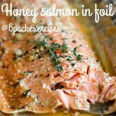 packet recipes on Pinterest | Parmesan Salmon, Honey Salmon and Shrimp ...