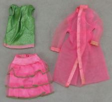 Barbie #1845 1968 Set Barbie Scene Stealers Near Complete