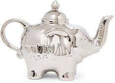 Teapot with Stainless Steel Infuser,Ceramic Stoneware,Cordon Blue DishwasherSafe