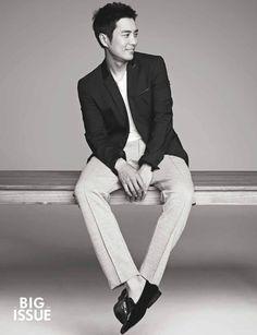 Joo Sang Wook The Big Issue Korea Magazine July Issue Korean Star, Korean Men, Asian Men, Korean Actresses, Korean Actors, Actors & Actresses, Cunning Single Lady, Joo Sang Wook, Korean Variety Shows