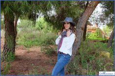 Sombrero Fedora con @FlamingoInLove_ @tocadosmasario http://www.masario.es/es/familia.aspx?id=679
