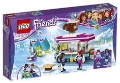 LEGO Friends 41319: Snow Resort Hot Chocolate Van. A Friends set released in 2017.