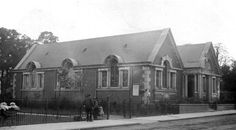 Sydenham Library and Home Park. 1900s