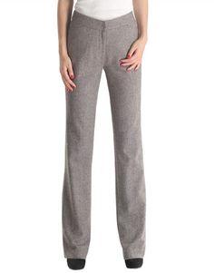 Elsa Mid Rise Straight-Leg Wool Trousers, $239.00