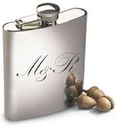 Presente para padrinhos - Frasco personalizado para Whisky Cado Presentes #casamento #wedding #weddingideas #bestman #padrinhos