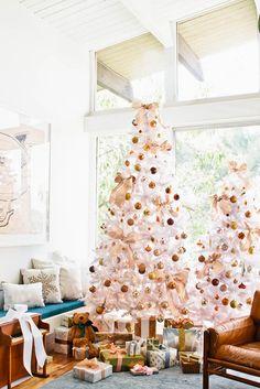 Noël glamour en doré et blanc - Damask & Dentelle blog