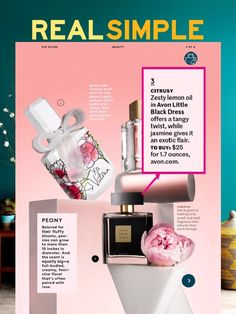 In case you missed it, be sure to check out the Real Simple Magazine feature on Little Black Dress! ~ Avon Lady Beth Bailey ~ Avon eStore LipstickShoesAndMore.com