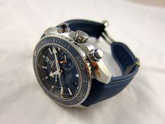 Omega planet ocean ceramic chrono chronograph titanium