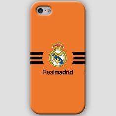 Fundas para iPhone 4-4s-5-5s, con diseños del Real Madrid CF. Materiales policarbonato semiflexible y  color naranja y rayas negras Puedes ver más detalles y Comprar con envió gratis en: http://www.upaje.com/shop/fundas-moviles/real-madrid-cf-iphone-5-5s/ #fundas #carcasas #iphone4 #iphone4s #iphone5 #iphone5s #realmadrid #naranja