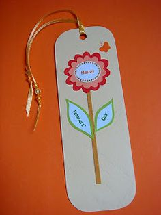 Anilza Beads: Teachers day bookmarks