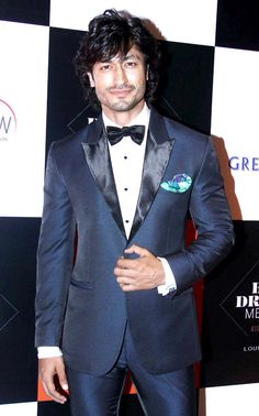 Vidyut Jamwal at the the GQ Best Dressed Men 2013 #Bollywood #Fashion