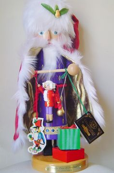 Steinbach Nutcracker Ten Lords a Leaping Limited Edition 12 Days of Christmas Offered by #MyTexasTreasures on Bonanza