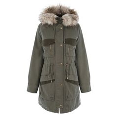 Pin for Later: 20 Manteaux à Shopper Avant Qu'il Ne Soient Plus en Stock Warehouse Manteau Parka (117€)