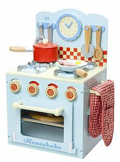 Play kitchen.. Kayden will have a nice manly one. Real men know their way around a kitchen :)
