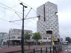 IJ tower, Neutelings Riedijk   Amsterdam   Netherlands   MIMOA