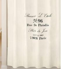 Park B. Smith Brasserie Shower Curtain   JCPenney