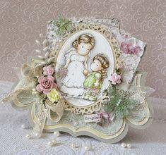 Inky Angel: Tilda and Bridesmaid ~ Charming at The Ribbon Girl