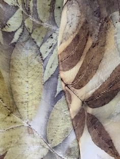 detail of scarf by Rebecca Yeomans