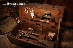 steampunk hunting bag - rifle www.steampunker.de