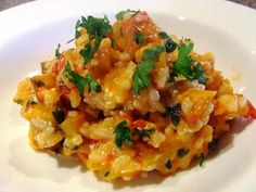 Full Little Tummies: Filling Tummies with Honey-Baked Pumpkin Risotto