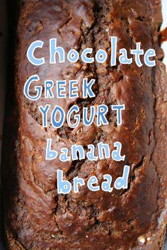 Chocolate Greek Yogurt Banana Bread — CakeSpy
