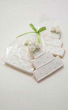 nice Wedding Cake Cookies....