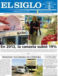 Diario El Siglo - Miércoles 16 de Enero de 20 13